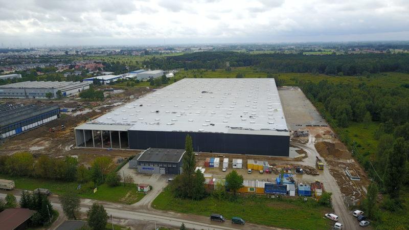Commercial construction building
