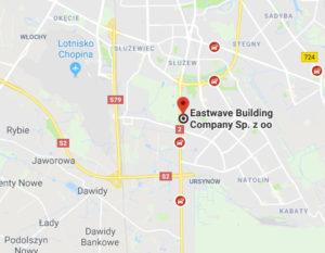 Map Eastwave Company