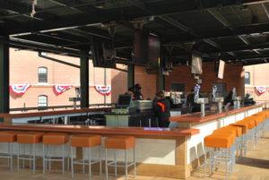 Orioles Park Center field bar